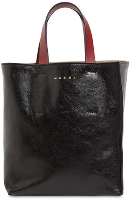 Marni Museo Soft Smooth Leather Tote Bag