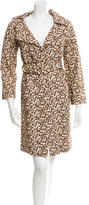 Marni Embroidered Trench Coat