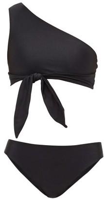 Adriana Degreas Asymmetric Mid-rise Bikini - Black
