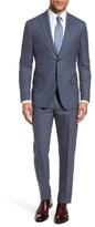 Michael Bastian Men's Classic Fit Check Wool Suit