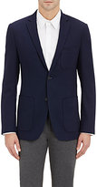 Theory MEN'S TWO-BUTTON SPORTCOAT-NAVY SIZE 42