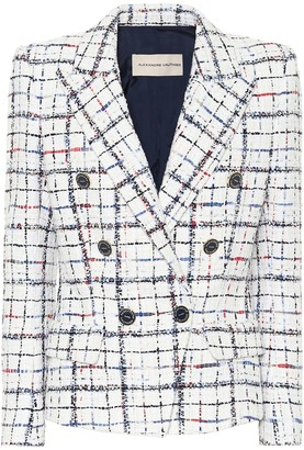 Alexandre Vauthier Checked tweed blazer