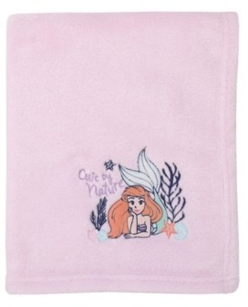 Disney The Little Mermaid Fleece Blanket Bedding