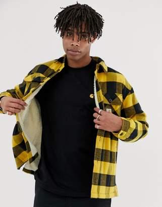 Carhartt Wip WIP Merton shirt jacket in yellow check