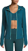 Under Armour Breathelux Full Zip Hooded Performance Jacket