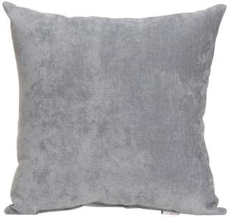 Glenna Jean Swizzle Solid Gray Pillow