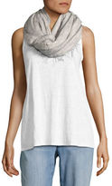 Eileen Fisher Ribbed Virgin Wool Scarf