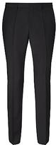 Hugo Boss Hugo Huge/genius Virgin Wool Slim Fit Suit Trousers, Black