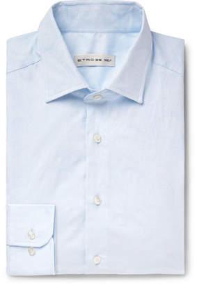 Etro Slim-Fit Cotton-Jacquard Shirt