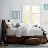 west elm Emmerson® Reclaimed Wood Storage Bed - Natural