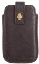 Alexander McQueen Skull Leather Phone Case