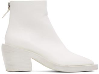 Marsèll SSENSE Exclusive White Coneros Boots