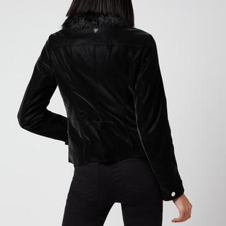 GUESS Women's Cantara Biker Jacket