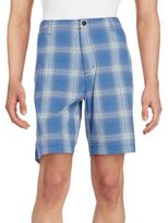 Tommy Bahama Tech It Away Plaid Shorts