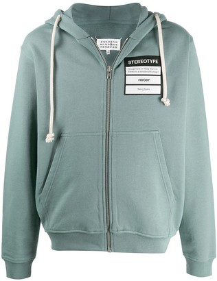 Maison Margiela Stereotype zip hoodie
