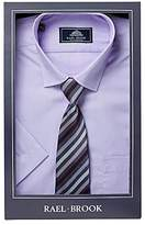 Rael Brook Boxed Short Sleeve Shirt With Tie