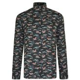 Lanvin Crane Print Shirt