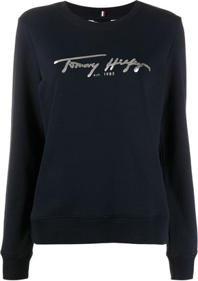 Tommy Hilfiger Foil Logo Jumper