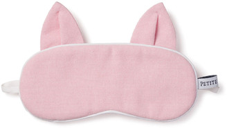 Petite Plume Kid's Kitty Solid Eye Mask