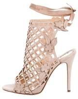 Marchesa Edith Laser Cut Sandals