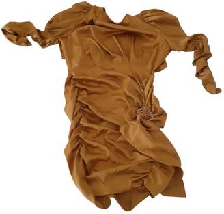 For Love & Lemons Camel Polyester Dresses