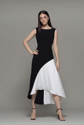 Isabel Sanchis Altilla Sleeveless Midi Dress