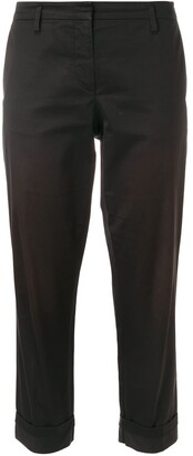 Prada Pre Owned Cropped Trousers