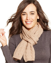 Charter Club Cable Cashmere Scarf, Only at Macy's