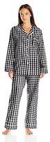 BedHead Pajamas 2PC Women's Classic Woven Pajama Set