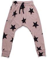 Nununu Baby Girl's Star Baggy Pants - Powder Pink