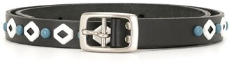 Undercover Metallic Accent Belt