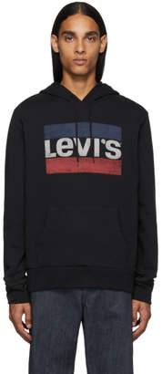 Levi's Levis Black Classic Logo Hoodie