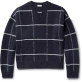 Dries Van Noten Checked Wool Sweater