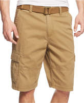 American Rag Men's Belted Relaxed Big & Tall Cargo Shorts, Only At Macy's
