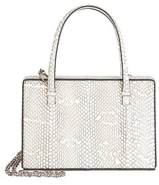 Loewe Python Top Handle Box Bag