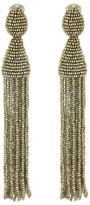 Oscar de la Renta Classic Long Tassel C Earrings Earring