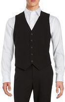 Kenneth Cole Reaction Button-Front Vest