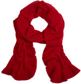Brooks Brothers Cashmere Ruffle Wrap