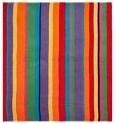 Ringspun Cotton Craft - Luxury Beach Towel for Two 58x68 - Beach Blanket - Summer of Siam Multi Stripe.