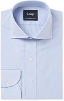 Drake's - Blue Slim-fit Bengal-striped Cotton Shirt