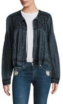 Free People Twilight Mirror Embellished Jacket