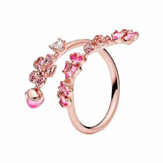 Pandora Stories Rose Gold Ring Size 56