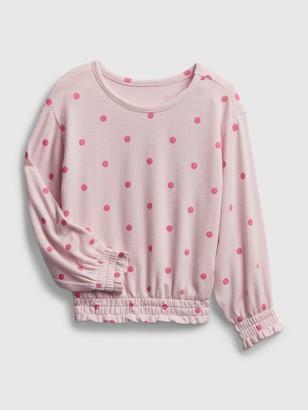 Gap Toddler Softspun Smocked Shirt