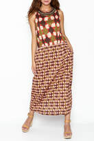 Maliparmi Multi Patterned Maxi Dress