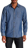 Weatherproof Denim Jacquard Dobby Woven Regular Fit Shirt