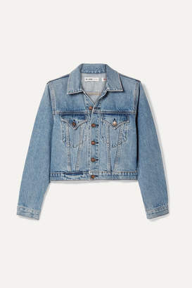RE/DONE 60s Shrunken Trucker Denim Jacket - Mid denim