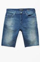PacSun Skinny Distressed Flex Stretch Denim Shorts