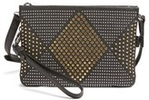 Vince Camuto Cami Leather Crossbody Bag - Metallic