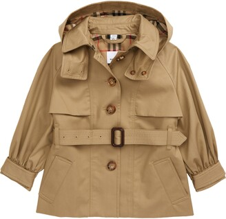 Burberry Julieta Hooded Trench Coat