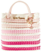 Betsey Johnson Pleats and Thank Y Pleated Handbag